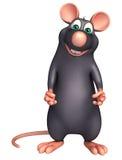 funny Rat cartoon character Royalty Free Stock Image