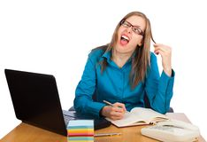 Funny reaction Royalty Free Stock Photography