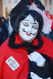 Funny red mask, Venice, Italy, Europe, close up Royalty Free Stock Images