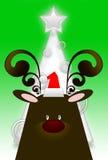 Funny reindeer Stock Image