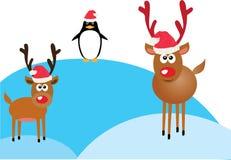 Funny Reindeer Vector Stock Photo