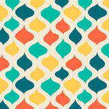 Funny Retro backgrounds. Vector seamless abstract hand-drawn pattern. EPS10 Vector illustration Royalty Free Stock Photography