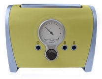 Funny retro toaster Stock Image