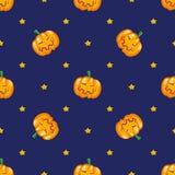 Funny ripe pumpkin Stock Photography