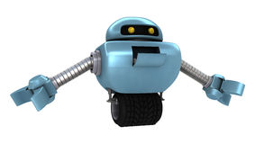Funny Robot Stock Photo