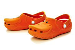 Funny rubber shoes Royalty Free Stock Photo