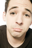 Funny sad face Stock Photography