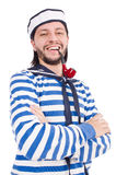 Funny sailor isolated Stock Image