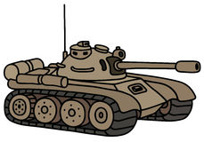 Funny sand tank Stock Images