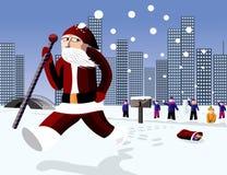 Funny Santa Stock Image