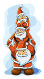 Funny Santa Royalty Free Stock Photos