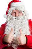 Funny Santa Claus Stock Images