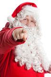 Funny Santa Claus Stock Photography
