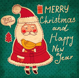Funny Santa Claus Stock Photography