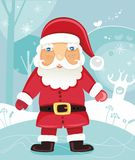 Funny Santa Claus. Christmas character. To see similar stuff, please visit my gallery Royalty Free Stock Photography