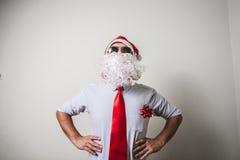 Funny santa claus babbo natale Stock Photos