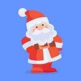 Funny Santa Claus Character Cartoon Icon Royalty Free Stock Image