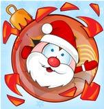 Funny santa claus Royalty Free Stock Images