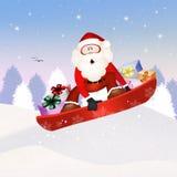 Funny Santa Claus Stock Photos