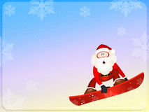 Funny Santa Claus Royalty Free Stock Photography