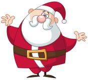 Funny santa Royalty Free Stock Photo