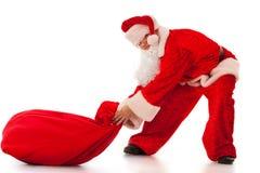 Funny Santa Clause Stock Image