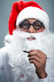 Funny Santa Royalty Free Stock Photos
