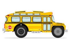 Funny school bus Royalty Free Stock Images
