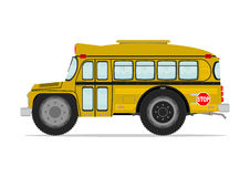 Funny school bus Royalty Free Stock Photography