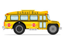 Funny school bus Stock Photography