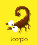 Funny Scorpion stock illustration
