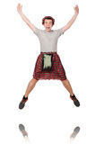 Funny scotsman Stock Photos