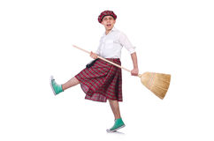 Funny scotsman Royalty Free Stock Photography