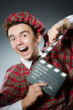 Funny scotsman Royalty Free Stock Image