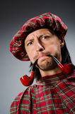 Funny scotsman Stock Photos