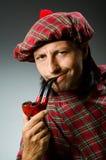 Funny scotsman Royalty Free Stock Photography