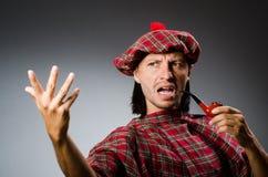 Funny scotsman Royalty Free Stock Image