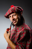 Funny scotsman Royalty Free Stock Images