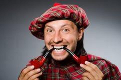 Funny scotsman Royalty Free Stock Photo