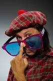 Funny scotsman Stock Photo