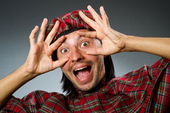 Funny scotsman Royalty Free Stock Photos
