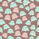 Funny sea seamless pattern Stock Photo