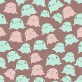 Funny sea seamless pattern Stock Photo