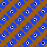 Funny seamless eye background. Abstract eye seamless pattern. Stock Photo