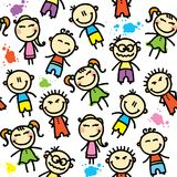 Kid pattern Stock Photos