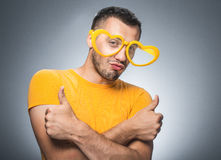 Funny seducer Royalty Free Stock Images
