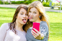 Funny selfie Royalty Free Stock Photo