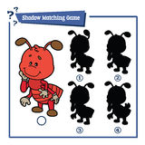 Funny shadow ant game. Stock Images