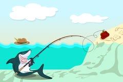 Funny shark Royalty Free Stock Photo