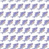 Funny shark seamless pattern Stock Photography